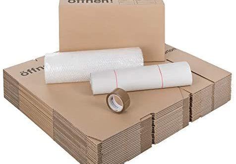 1 Umzugskomplettpaket 1 bis 2 Zimmer Wohnung mit 20 Umzugskartons Profi 476x330 - 1 Umzugskomplettpaket (1 bis 2-Zimmer-Wohnung) mit 20 Umzugskartons Profi + Luftpolsterfolie + Seidenpapier + Klebeband
