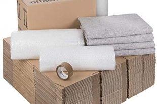 1 Umzugskomplettpaket 2 bis 3 Zimmer Wohnung mit 40 Umzugskartons Profi 310x205 - 1 Umzugskomplettpaket (2 bis 3-Zimmer-Wohnung) mit 40 Umzugskartons (Profi) + Luftpolsterfolie + Seidenpapier + Klebeband