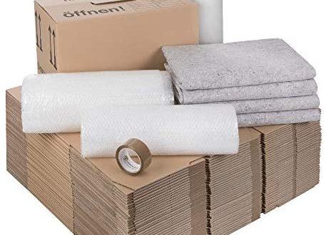 1 Umzugskomplettpaket 2 bis 3 Zimmer Wohnung mit 40 Umzugskartons Profi 454x330 - 1 Umzugskomplettpaket (2 bis 3-Zimmer-Wohnung) mit 40 Umzugskartons (Profi) + Luftpolsterfolie + Seidenpapier + Klebeband