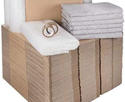 1 Umzugskomplettpaket 3 bis 4 Zimmer Wohnung mit 75 Umzugskartons Profi 405x330 - 1 Umzugskomplettpaket (3 bis 4-Zimmer-Wohnung) mit 75 Umzugskartons Profi + Luftpolsterfolie + Seidenpapier + Klebeband