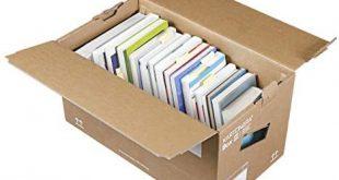 10 Stueck Profi Buecherkartons KARTONARA Box L Umzugskartons fuer 310x165 - 10 Stück Profi Bücherkartons KARTONARA Box L | Umzugskartons für Bücher 45kg