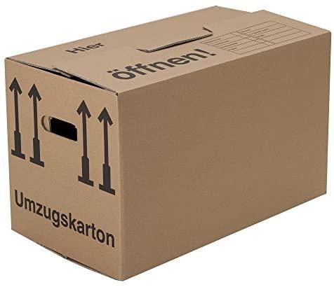 10 Umzugskartons (Spedition) 660 x 360 x 380 mm 2-wellig 40 kg Volumen: 84l