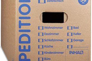 KK Verpackungen® Umzugskartons mit 50KG Tragkraft 10 Stueck 2 wellige 310x205 - KK Verpackungen® Umzugskartons mit 50KG Tragkraft | 10 Stück, 2-wellige Mehrweg-Umzugskisten in extrastabiler Speditionsqualität