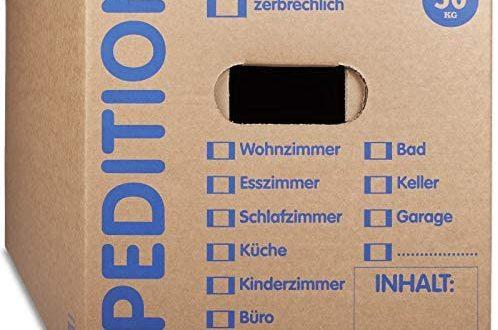 KK Verpackungen® Umzugskartons mit 50KG Tragkraft 10 Stueck 2 wellige 498x330 - KK Verpackungen® Umzugskartons mit 50KG Tragkraft | 10 Stück, 2-wellige Mehrweg-Umzugskisten in extrastabiler Speditionsqualität