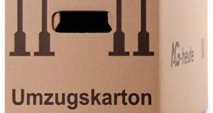 AG heute 30 Stueck Umzugskartons 600 x 330 x 340mm Standard 310x165 - A&G-heute 30 Stück Umzugskartons 600 x 330 x 340mm Standard Faltkartons Umzugskisten 2-wellig doppelter Boden Profi braun