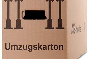 AG heute 30 Stueck Umzugskartons 600 x 330 x 340mm Standard 310x205 - A&G-heute 30 Stück Umzugskartons 600 x 330 x 340mm Standard Faltkartons Umzugskisten 2-wellig doppelter Boden Profi braun